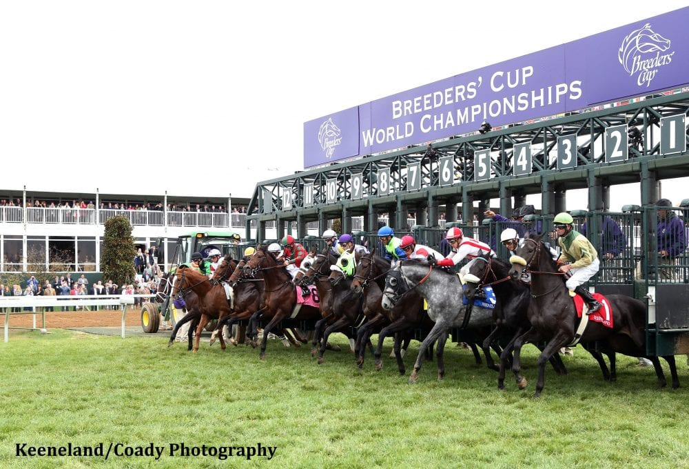 Keeneland S First Breeders Cup A Tremendous Success