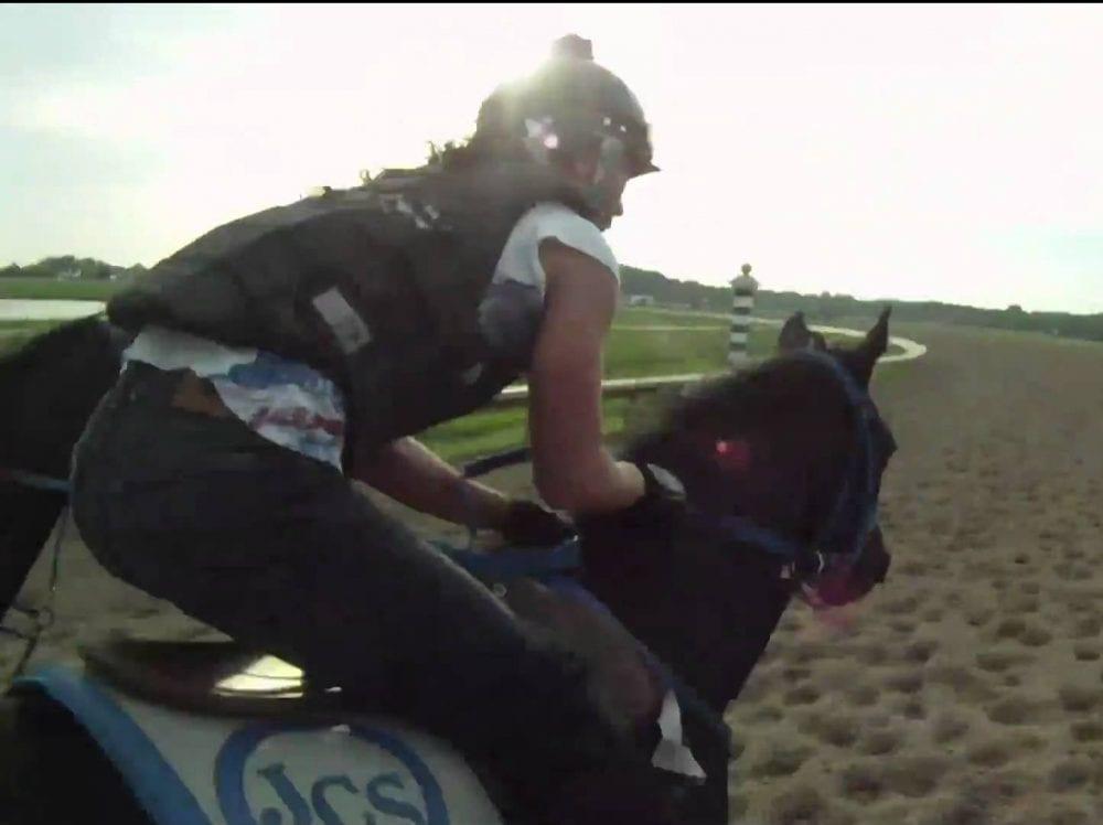 Jocson training for the 2010 Lady Legends race