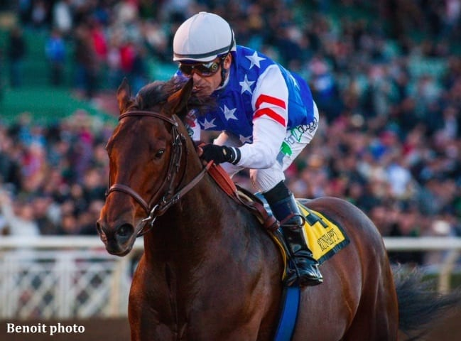 Runhappy Scores Powerful Victory In Malibu Horse Racing