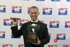 Javier Castellano lit up racing in 2015, riding more winners and winning more money than any other jockey