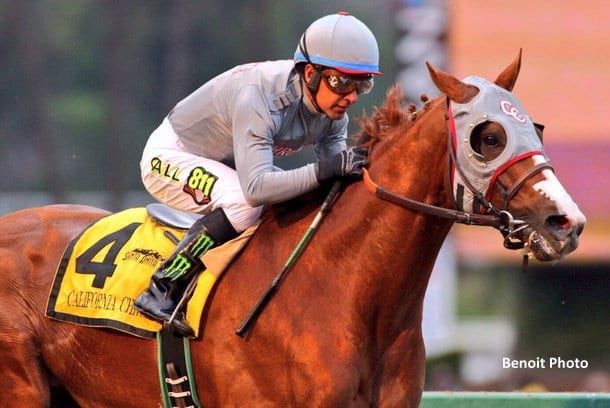 Baffert California Chrome Is Good For The Sport Horse