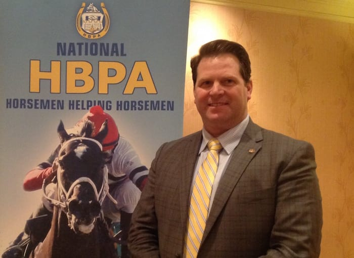 Eric Hamelback, CEO of the National Horsemen's Benevolent and Protective Association