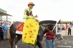 Destin wins the Tampa Bay Derby