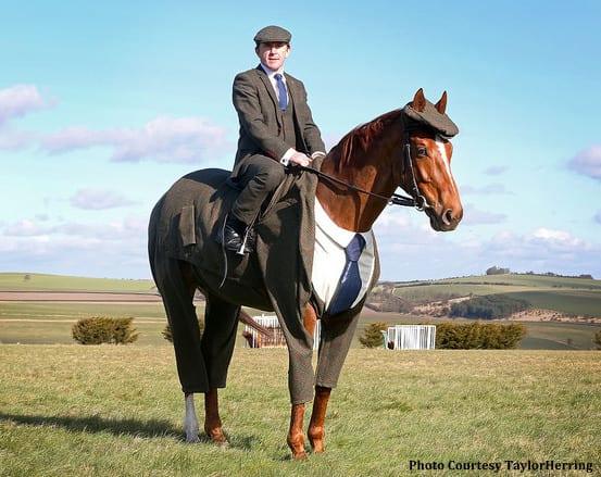 Dapper Dapples World S First Harris Tweed Suit Designed