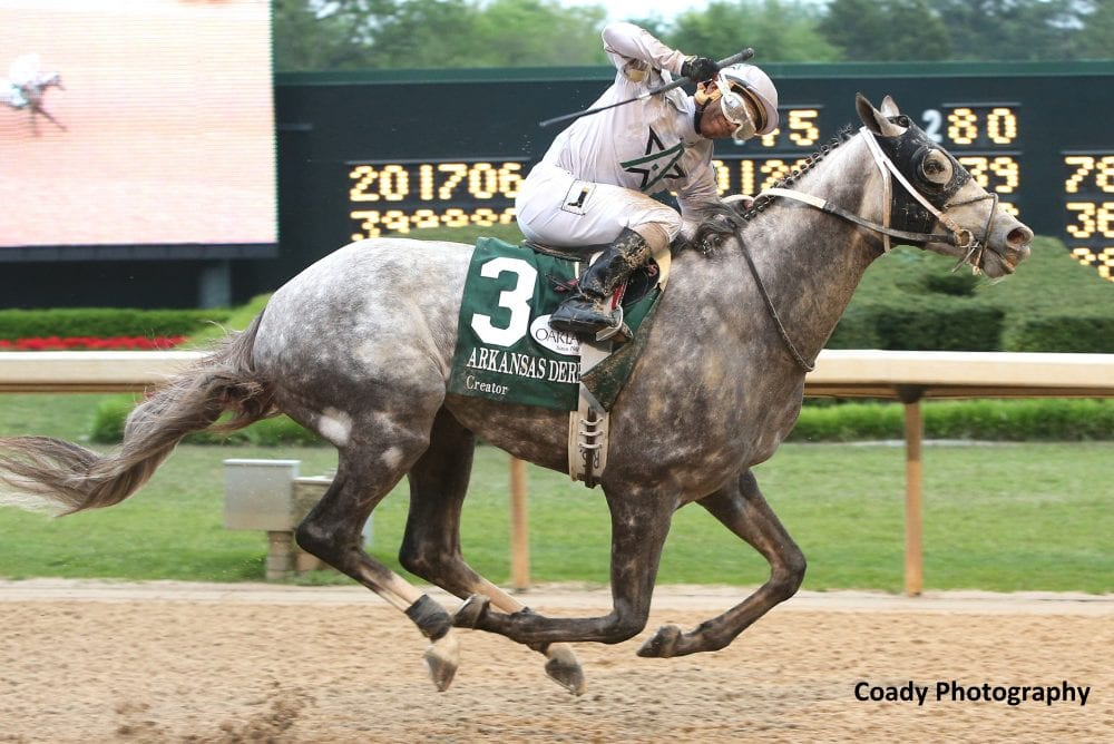 Creator Last To First In Arkansas Derby Horse Racing
