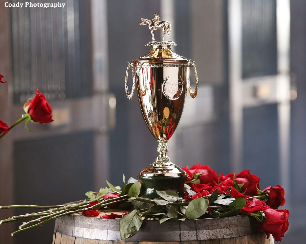 Simply Priceless Kentucky Derby Trophy Arrives At