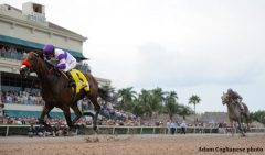 Nyquist wins the Florida Derby on a record day for Gulfstream Park