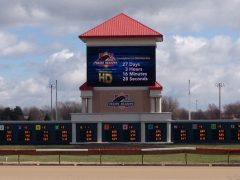 Prairie Meadows is one of three facilities in the state currently offering simulcast wagering