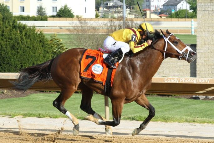 Stanford Leads All The Way In Charles Town Classic Horse