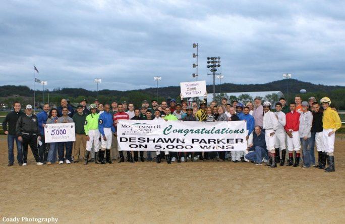 Jockey Deshawn Parker Notches 5 000th Career Victory