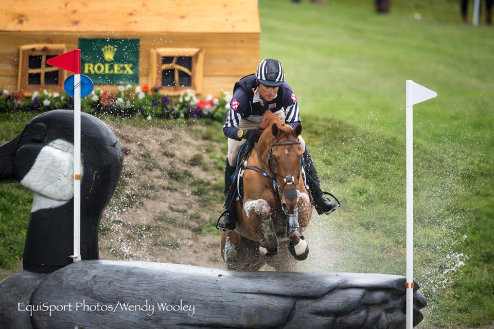 Thoroughbred Blackfoot Mystery and Boyd Martin finish sixth at the Rolex 3-day event in Lexington