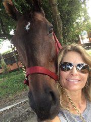 Shelley Blodgett with Immortal Wink