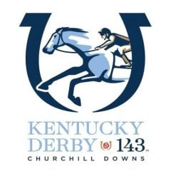 Kentucky Derby 143 logo 2017