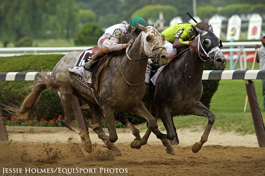 Creator (13) and jockey Irad Ortiz Jr. win the Belmont Stakes