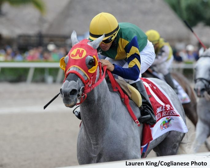 Delta Bluesman Battles Back To Win Smile Sprint Stakes