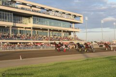 Harness racing at the Meadowlands