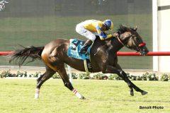 Mokat wins the San Clemente Handicap