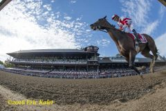 Songbird remains undefeated in the Coaching Club American Oaks