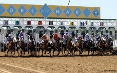 More than $465 million was wagered during Del Mar's 39-day summer meet