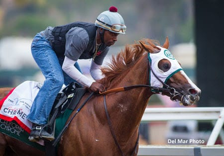 California Chrome Gets The Best Of Game Dortmund In San Diego Cap Horse Racing News