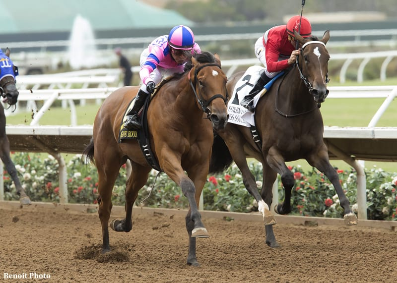 Equibase Analysis Del Mar Debutante Could Be Ticket To