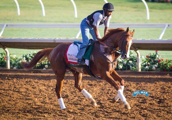 Pacific Clic Field Shapes Up As Chrome Beholder Set Workout Schedules