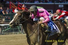 Haveyougoneaway notched her first Grade 1 win in Saratoga's Ballerina Stakes