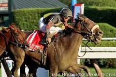 Shaman Ghost (Ghostzapper) and Javier Castellano win the Woodward (Gr I) at Saratoga