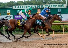 Texas Chrome takes the Super Derby on Sept. 10