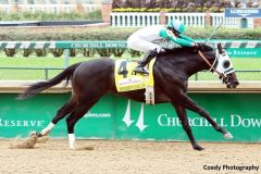 Warrior's Club wins the inaugural Spendthrift Stallion Stakes