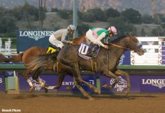 Can Arrogate pass California Chrome in Horse of the Year votes?