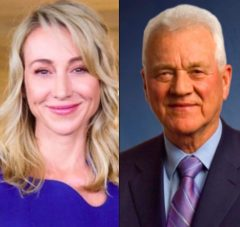 Belinda Stronach is now president and chairs the board of the company founded by her father, Frank Stronach.
