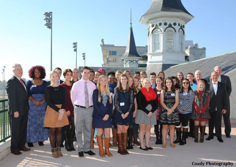 Churchill Downs Honors 2016 Class Of Governor S Scholars