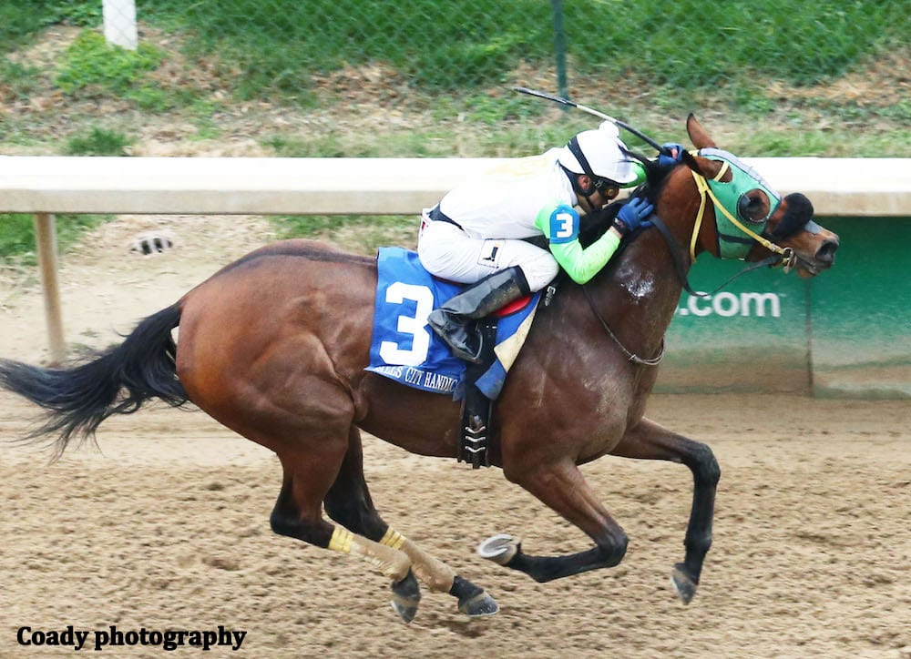 Indiana Bred Lady Fog Horn Best In Falls City Handicap