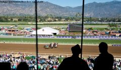 The 2018 Pegasus World Cup could move to Santa Anita Park, according to a published report