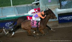 Beholder and Songbird's heart-stopping Distaff finish is amongst the contenders for the NTRA Moment of the Year award