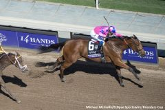 Champagne Room wins the Breeders' Cup Juvenile Fillies