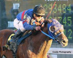 Gunnevera and Javier Castellano win the Delta Downs Jackpot