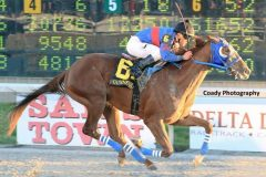 Delta Downs Jackpot winner Gunnevera is expected to make his 2016 debut the Holy Bull Stakes Feb. 4