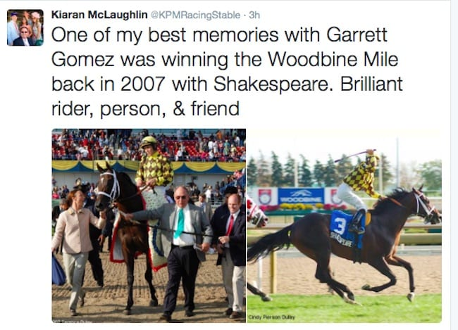 Jockey Garrett Gomez Dead At 44 - Horse Racing News