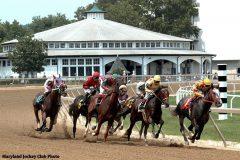 Racing at Laurel Park