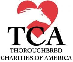 TCA Thoroughbred Charities of America logo