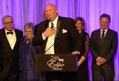 Horse of the Year California Chrome's co-owner Perry Martin stunned the Eclipse Award audience with his remarkably self-indulgent and graceless comments
