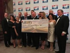 Luxair's Eclipse Awards auction raised $82,000 for the Thoroughbred Aftercare Alliance