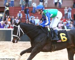 Uncontested takes the Smarty Jones Stakes