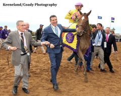 Wavell Avenue gave Dubb his first Breeders' Cup win in 2015