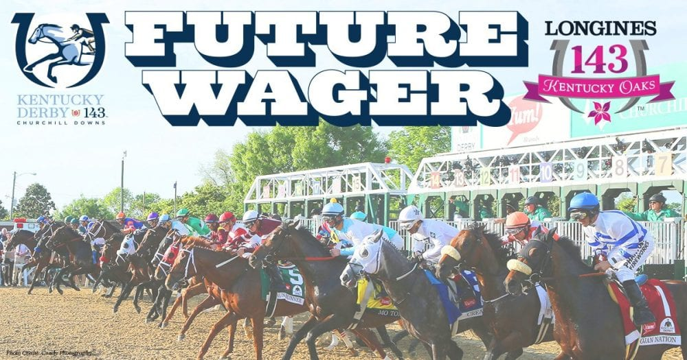 Ky derby future wager mccraken classic empire individual for Show pool horse racing