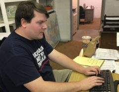 Previously one of the track's handicappers, Kevin Schnoor is currently working in Rillito Park's racing office