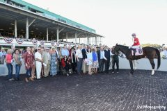 McCraken in the winner's circle for the Sam F. Davis Stakes at Tampa Bay Downs