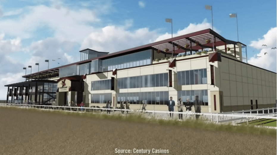 Artist's rendering of the proposed Century Mile Racetrack in Alberta (courtesy Twitter)